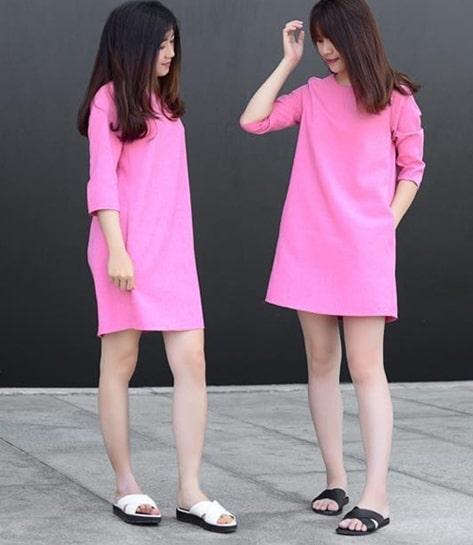 váy dáng suông