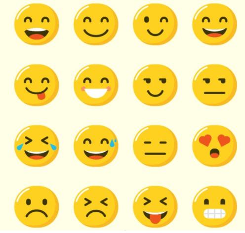Một số kí tự đặc biệt mặt cười